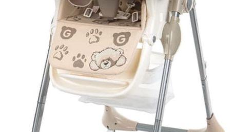 G-MINI Jídelní židle Melisa, Medvídek - Béžová
