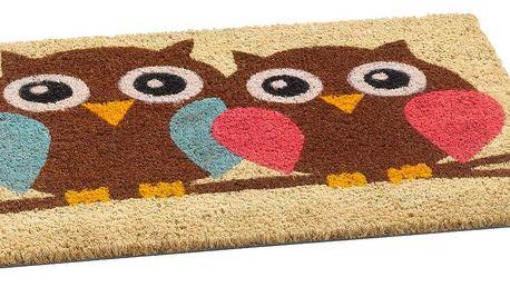 Vopi vnitřní rohožka Owls, 40 x 60 cm