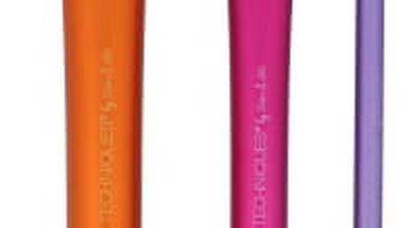 Real Techniques Brushes Duo-Fiber Collection dárková kazeta pro ženy štětec na obličej 1 ks + štětec na oči 1ks + konturovací štětec 1 ks