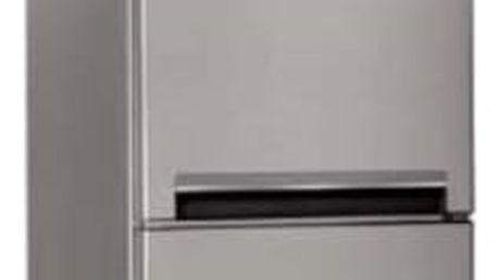 Kombinace chladničky s mrazničkou Indesit LI8 S2 X nerez