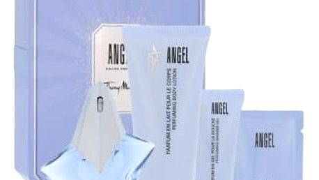 Thierry Mugler Angel dárková kazeta pro ženy parfémovaná voda 25 ml + tělové mléko 100 ml + sprchový gel 30 ml + tělový krém 10 ml