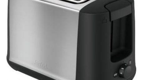 Opékač topinek Tefal TT340830 černý/nerez