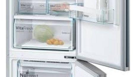 Kombinace chladničky s mrazničkou Bosch KGN39VL35 Inoxlook + Doprava zdarma
