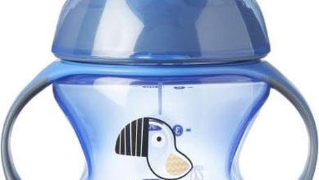 TOMMEE TIPPEE Netekoucí hrnek Explora First Cup 150 ml 4m+, modrý