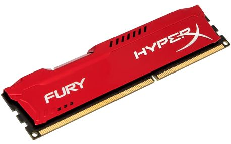 Kingston HyperX Fury Red 4GB DDR3 1333 CL 9 - HX313C9FR/4