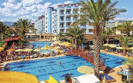 Hotel Caretta Beach, Turecká riviéra, Turecko, letecky, all inclusive