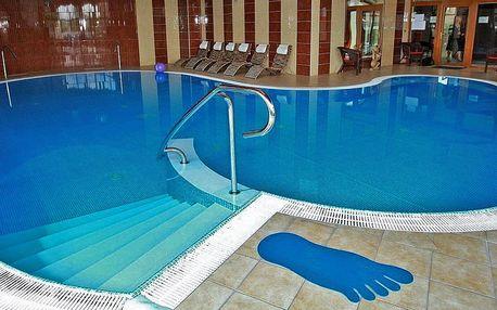 Relax pobyt blízko termálního aquaparku Corvinus