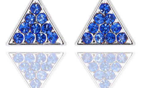Fashion Icon Náušnice trojúhelník pecky