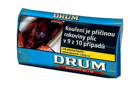 Tabák cigaretový Drum Bright Blue 40g SO