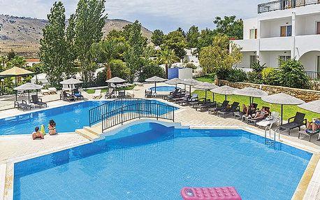 Hotel Ellia, Rhodos, Řecko, letecky, all inclusive