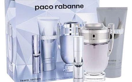 Paco Rabanne Invictus EDT dárková sada M - EDT 100 ml + EDT 10 ml + sprchový gel 100ml