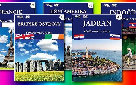 Kolekce 5 DVD ze série Na cestách kolem světa