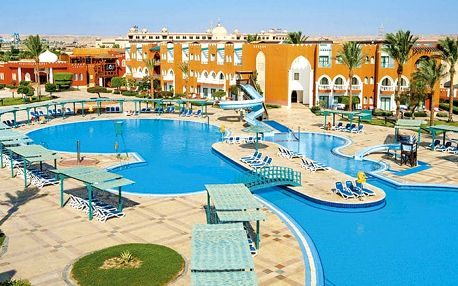 Hotel Sunrise Garden Beach Resort & Spa, Hurghada, Egypt, letecky, ultra all inclusive