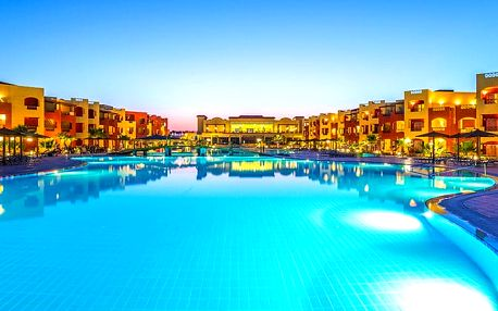 Hotel Royal Tulip Beach Resort, Marsa Alam, Egypt, letecky, all inclusive