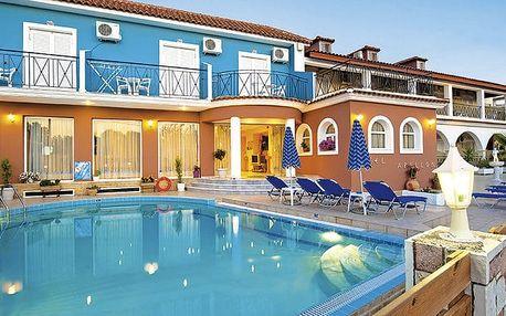 Hotel Apollon, Zakynthos, Řecko, letecky, snídaně v ceně