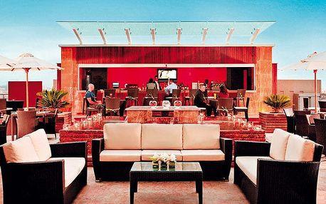 Hotel Media Rotana, Dubaj, Spojené arabské emiráty, letecky, snídaně v ceně