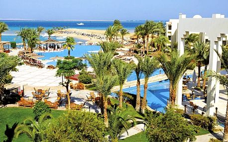 Grand Plaza Hotel, Hurghada, Egypt, letecky, all inclusive