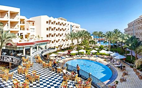 Hotel Sea Star Beau Rivage, Hurghada, Egypt, letecky, all inclusive