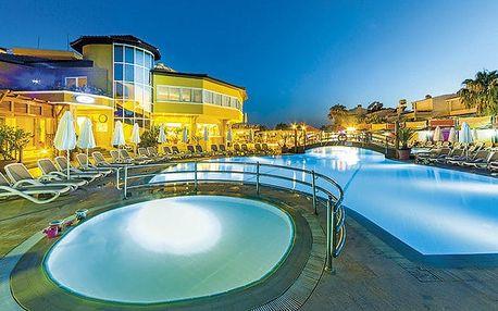 Hotel Club Dizalya, Turecká riviéra, Turecko, letecky, all inclusive