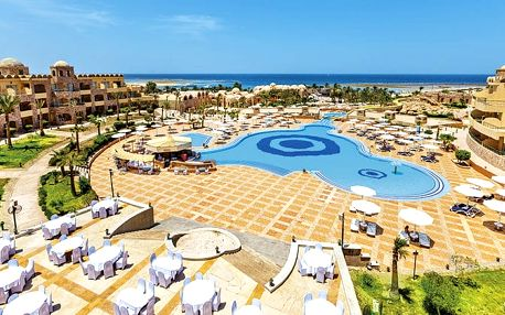 Hotel Utopia Beach Club, Marsa Alam, Egypt, letecky, all inclusive