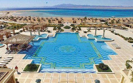 Hotel Sheraton Soma Bay Resort, Hurghada, Egypt, letecky, all inclusive