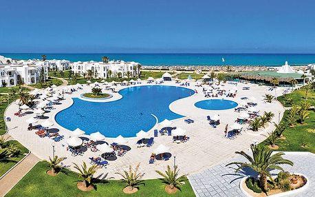Hotel Vincci Helios Beach, Djerba, Tunisko, letecky, all inclusive
