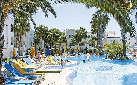 Hotel Nesrine, Tunisko pevnina, Tunisko, letecky, all inclusive