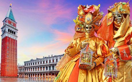 Postojna, Portorož a karnevalové Benátky na 1 noc
