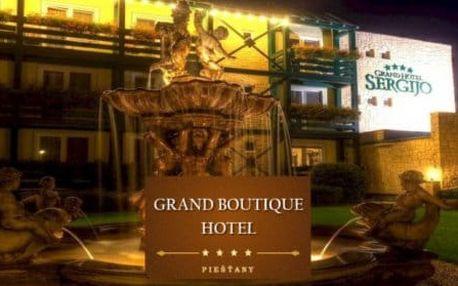 GRAND BOUTIQUE HOTEL SERGIJO**** - LAST MINUTE podzimní pobyt