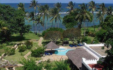 Keňa, Mombasa, letecky na 9 dní plná penze