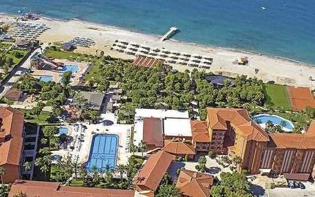 Hotel Club Turtas, Turecká riviéra, Turecko, letecky, all inclusive