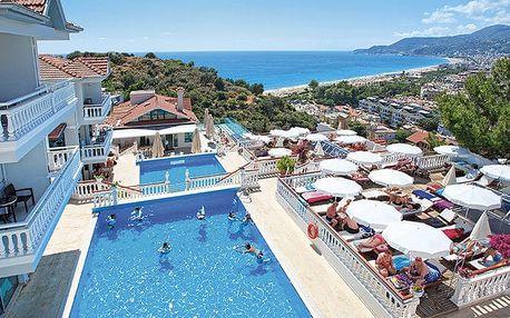 Hotel Sunny Hill Alya, Turecká riviéra, Turecko, letecky, all inclusive