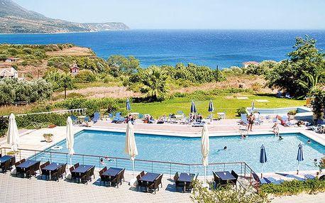 Karavados Beach Hotel, Kefalonie, Řecko, letecky, polopenze