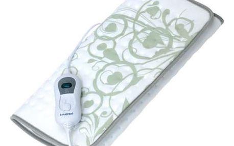Vyhřívací prostěradlo Lanaform Heating PAD bílý