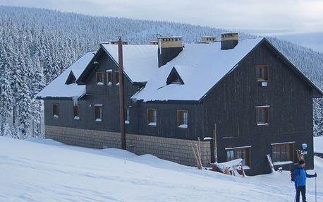 3 až 6denní pobyt pro 2 i rodinu se saunou v chatě Spořitelna v Krkonoších