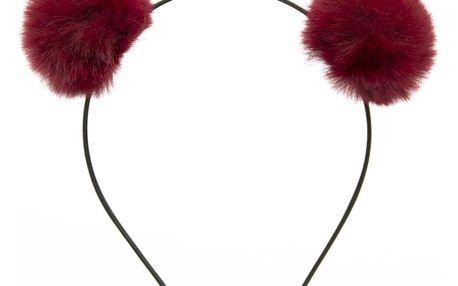 Fashion Icon Čelenka s medvědí ušima