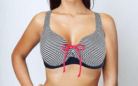 Pauline Blue dvojdílné plavky s kosticí