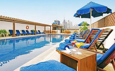 Hotel Citymax Bur Dubai, Dubaj, Spojené arabské emiráty, letecky, snídaně v ceně