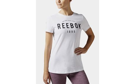 Tričko Reebok BASIC 1895 T WHITE Bílá