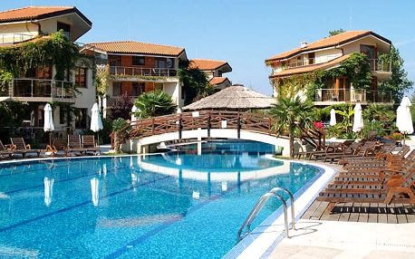 Hotel Laguna Beach Resort & Spa, Burgas, Bulharsko, letecky, all inclusive
