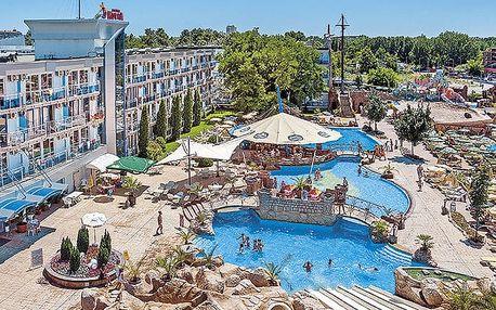 Hotel Kotva, Burgas, Bulharsko, letecky, snídaně v ceně
