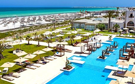Magic Hotel Palm Beach Palace, Djerba, Tunisko, letecky, all inclusive