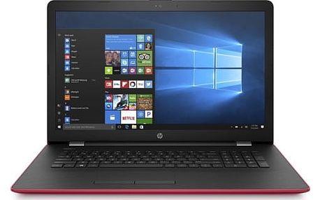 Notebook HP 17-ak040nc (2CP54EA#BCM) červený