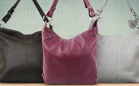 Dámské kožené kabelky od značky Made in Italy