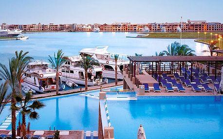 Hotel Marina Lodge Port Ghalib Resort, Marsa Alam, Egypt, letecky, all inclusive