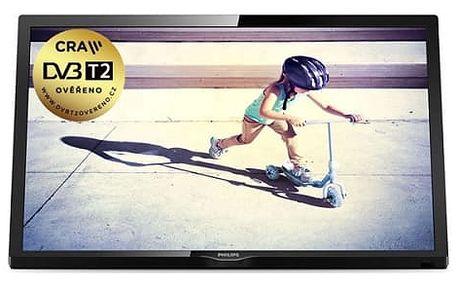 Televize Philips 24PFT4022/12 černá