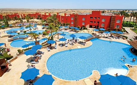 Hotel Aurora Bay Resort, Marsa Alam, Egypt, letecky, all inclusive