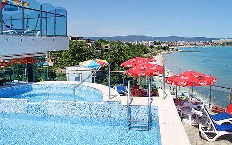 Hotel Bijou, Burgas, Bulharsko, letecky, polopenze