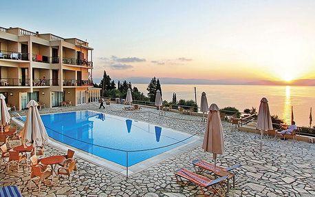Hotel Belvedere, Korfu, Řecko, letecky, all inclusive