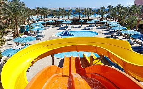 Hotel Le Pacha Resort, Hurghada, Egypt, letecky, all inclusive